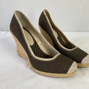 Banana Republic | Size 9. Brown Espadrille